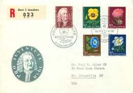 1958   Pro Juventute - FDC