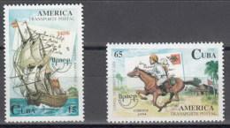 Cuba 3418/3419 ** MNH. 1994 - Unused Stamps