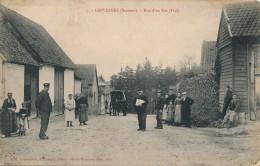 G67 - 80 - GRIVESNES - Somme - Rue D'en Bas - Fin - France