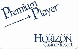 Horizon Casino - Lake Tahoe, NV - Slot Card (BLANK)