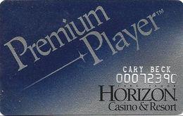 Horizon Casino - Lake Tahoe, NV - Slot Card - No Logo On Reverse