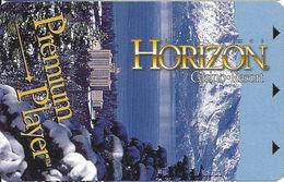 Horizon Casino - Lake Tahoe, NV - Slot Card (BLANK) - Casino Cards