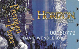 Horizon Casino - Lake Tahoe, NV - Slot Card