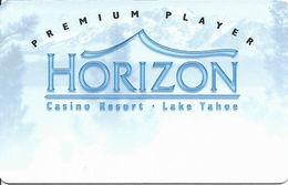 Horizon Casino - Lake Tahoe, NV - Slot Card - No Insert Arrows - Reverse Not Aligned At Right (BLANK)