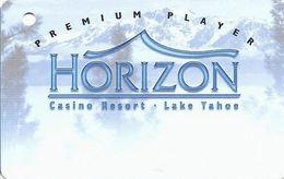 Horizon Casino - Lake Tahoe, NV - Slot Card - No Insert Arrows - Reverse Aligned At Right (BLANK)