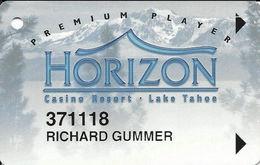 Horizon Casino - Lake Tahoe, NV - Slot Card - Insert Arrows - Reverse Aligned At Right