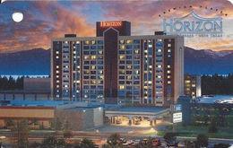 Horizon Casino - Lake Tahoe, NV - Slot Card - No Light Band For Player Info (BLANK)