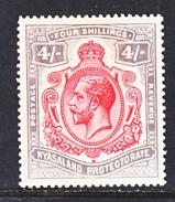 NYASALAND  PROTECTORATE   21  *  Wmk. 3 - Nyasaland (1907-1953)