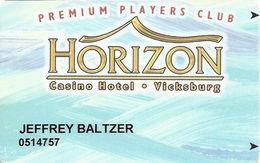 Horizon Casino - Vicksburg, MS - Slot Card - ACC Lower Left On Back