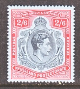 NYASALAND  PROTECTORATE   64  * - Nyasaland (1907-1953)