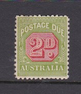 Australia Postage Due Stamps SG D107 1932 Two Pennies Mint No Gum - Postage Due