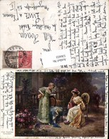 536433,Künstler AK Hans Zatzka Eine Freudige Botschaft Frauen - Zatzka
