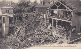 51----CHALONS Sur MARNE--bombardé--grande Guerre 1914-1918---voir 2 Scans - Châlons-sur-Marne
