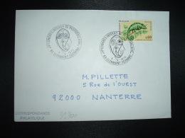 LETTRE TP CAMELEON 0,60 OBL.3-9-1973 63 CLERMONT-FERRAND IVe CONGRES INTERNAL DE PROTOZOOLOGIE - Storia Postale