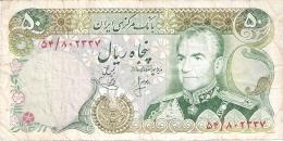 IRAN   50 Rials   ND (1974-79)   Sign.15   P. 101b - Iran