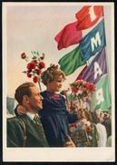 A1317 - Alte Propaganda Postkarte - Politik 1. Mai - Russische Anlaßkarte - N. Gel - Ereignisse