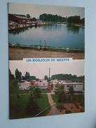 Un Bonjour De MEEFFE ( Pêcherie-Caravaning Marie-José ) Anno 19?? ( Zie Foto Details ) !! - Wasseiges