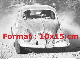 Reproduction D'une Photographie D'une Coccinelle VW De Rallye SPA Liège - Repro's