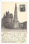 BUENOS-AIRES - Monumento25 De Mayo Y Municipalidad -   - L 1 - Argentina