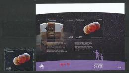 PORTUGAL Mi.Nr. 3407, Block 281 Europa:  Astronomie - 2009- MNH - 2009