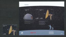 PORTUGAL - AZOREN Mi.Nr. 558, Block 41 Europa:  Astronomie - 2009- MNH - 2009
