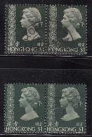$1 X 2 Pairs Used Hong Kong 1973 /1975 Simplified - Hong Kong (...-1997)
