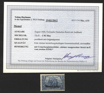 Memel,12aII,xx,Befund - Memelgebiet