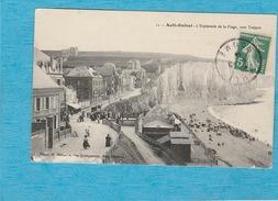 Ault-Onival. - L'Esplanade De La Plage, Vers Tréport. - Ault