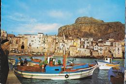 SICILIA - CEFALU' - LA MARINA - ED. SICILIA - VIAGGIATA 1973 - Italia