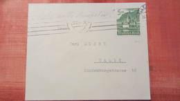 DR 33-45: Brief Mit 5+3 Pfg Winterhilfswerk 1940 In EF Drucksache Nach Halle Vom 23.12.41 Knr: 753 - Deutschland
