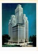 Luxueuse Présentation Luxurious Booklet Presenting Donald Trump Parc Building In New York (about 1984) - Dépliants Touristiques