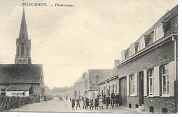 CPA / PK/ AK  - BIXSCHOOTE  Plaatsstraat - Langemark-Pölkapelle