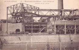 ALTE AK  MONTCEAU-les-MINES / Dep. S.-et-L. - Steinkohle Grube - 1920 Beschriftet - Montceau Les Mines
