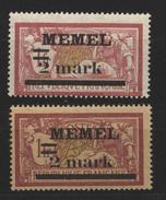 Memel,28x+y,xx - Memelgebiet