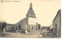CPA / PK/ AK  -  ROCHEHAUT  Eglise Et Monument  ( Animation ) - Bouillon