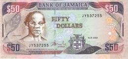 JAMAIQUE   50 Dollars   15/1/2004   P. 79e   UNC - Jamaica
