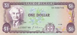 JAMAIQUE   1 Dollar   1/1/1990   Sign.10   P. 68Ad   UNC - Jamaica