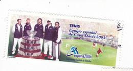 TENNIS - Equipe Espagnole De La Coupe DAVIS 2003 - 2001-10 Oblitérés