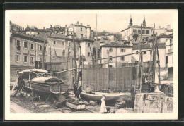 CPA Volosca, Vue Partielle Vom Le Port Aus - Kroatien