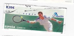 0,35 € - TENNIS - 2004 - Espanella 2004 - 2001-10 Oblitérés