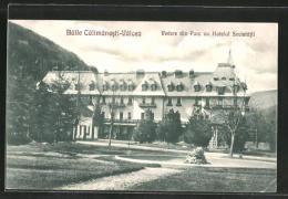 AK Calimanesti, Vedere Din Parc Cu Hotelul Societatii - Rumänien