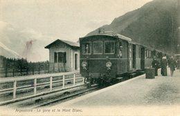 ARGENTIERE(GARE) TRAIN - France