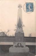 80 - SOMME / Carrepuis - Carte Photo - Monument Aux Morts - Otros Municipios