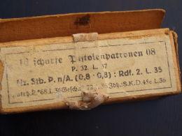 Pappschachtel P08 PARABELLUM-1936 !! - Army & War