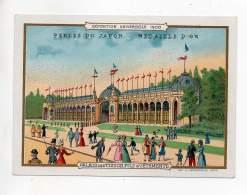 Chromo - Perles Du Japon - Exposition Universelle 1900 - Palais Des Tissus, Fils & Vêtements - Autres