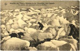 Missiën Der Paters Oblaten In De Ijsvelden Van Canada - Te Midden Der Samengevrozen Ijsschollen - Sin Clasificación