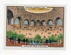 Chromo - Perles Du Japon - Exposition Universelle 1900 - Salle Des Fêtes - Chromos