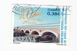 0,38 € - 2006 - 100 Ans Du CANAL De ARAGON Y CATALUNA -1906-2006 - 1931-Today: 2nd Rep - ... Juan Carlos I
