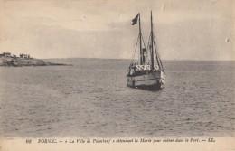 CPA - Pornic - La Ville De Paimbeuf Attendant La Marée Pour Entrer Dans Le Port - Pornic