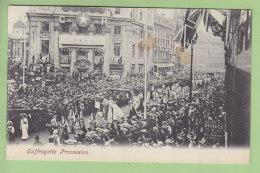 London : SUFFRAGETTE Procession. Les Suffragettes, Féminisme. Paquebot Olympic White Star Line . 3 Scans. - London